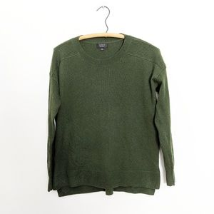 J. Crew Relaxed Everyday Cashmere Sweater Green